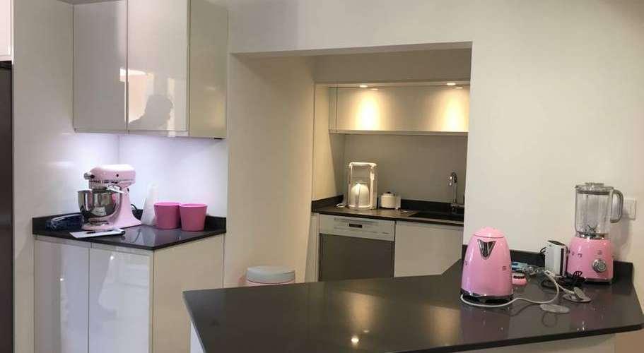 L'appartement Agay à Saint Raphael est composée d'une petite cuisine avec des équipements.