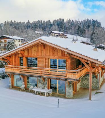 Villa de luxe à Megève à louer chez Blue Estate