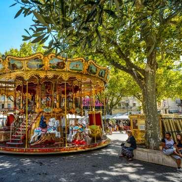 carousel-in-avignon-france