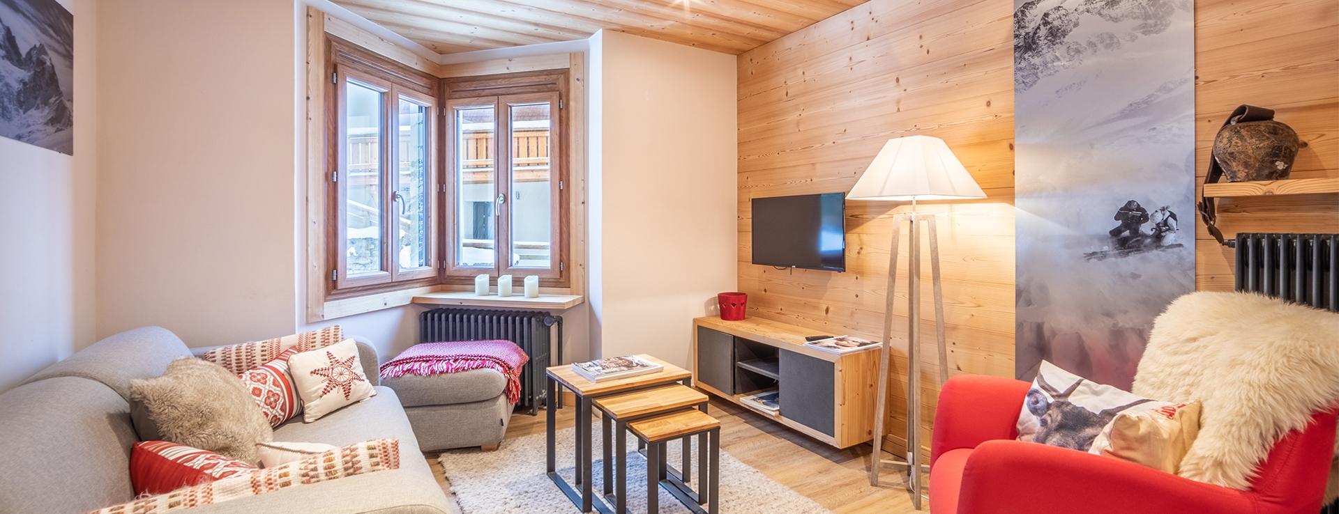 Appartement Centre Village Megève 11