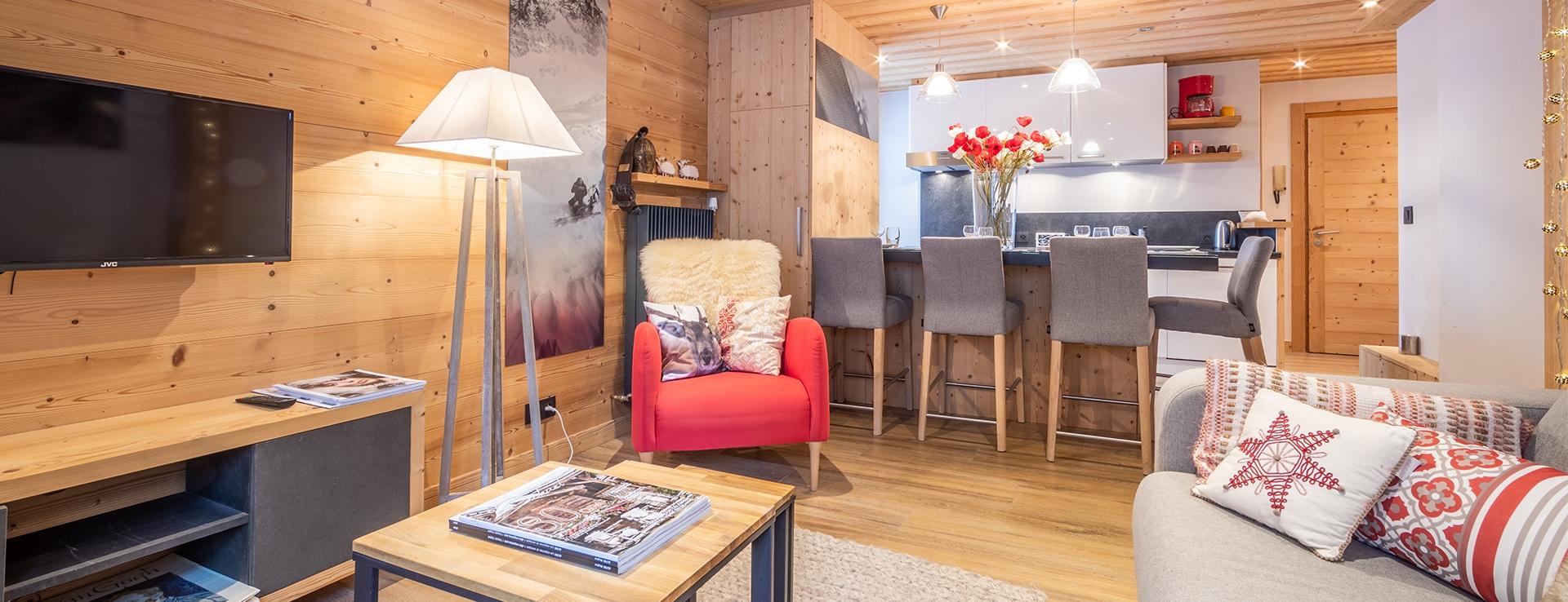 Appartement Centre Village Megève 10