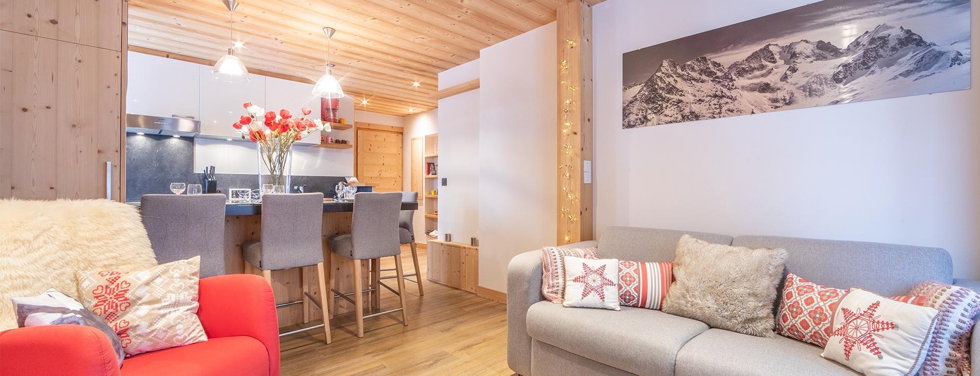 Appartement Centre Village Megève 9