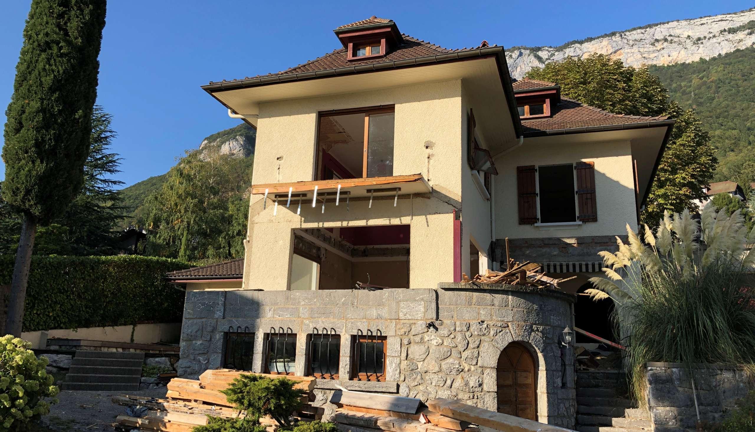 Fin des travaux / Villa Veyrier Du Lac 1