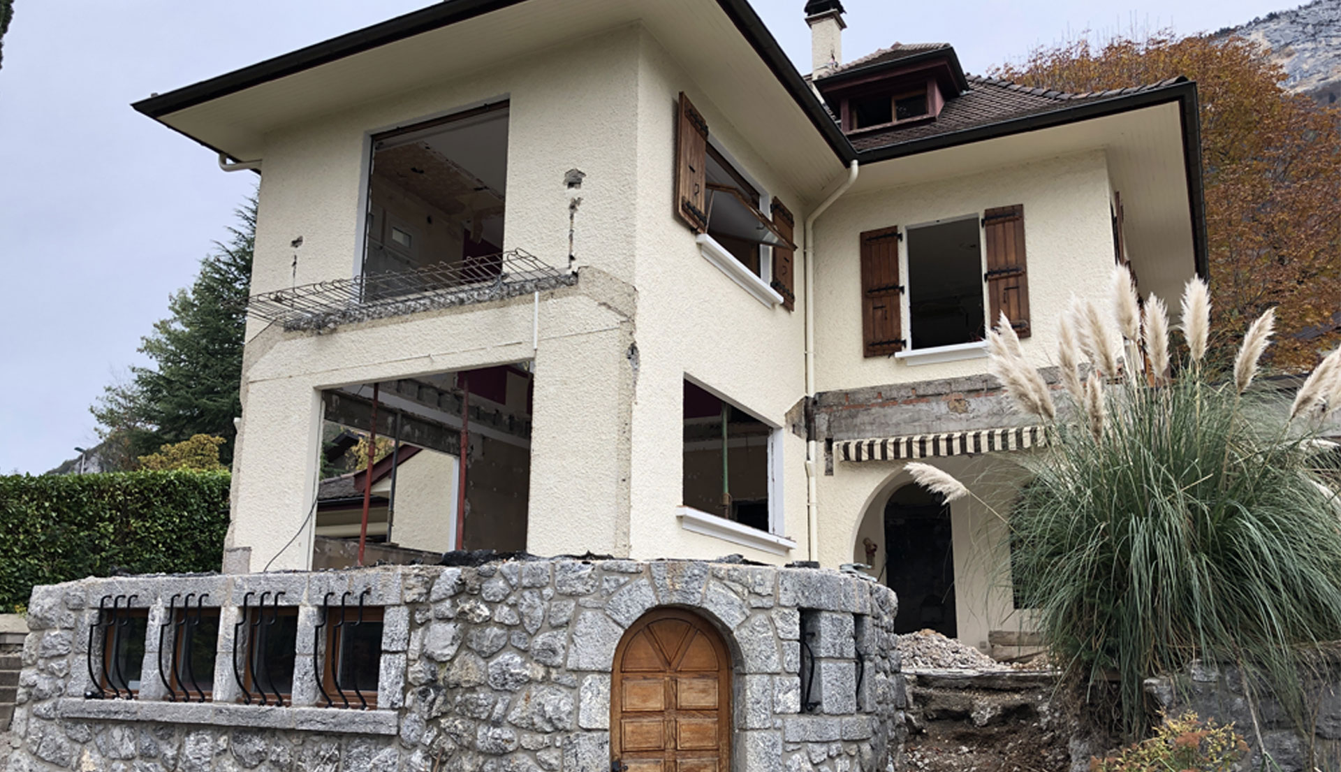 End of work on our villa in Veyrier-du-Lac 1