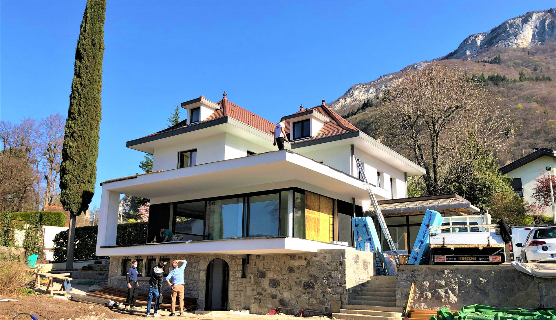 End of work on our villa in Veyrier-du-Lac 3