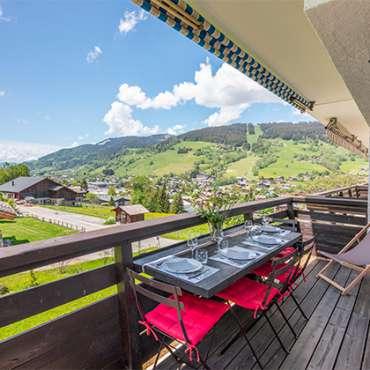 Appartement-Corneille-Megeve-balcon