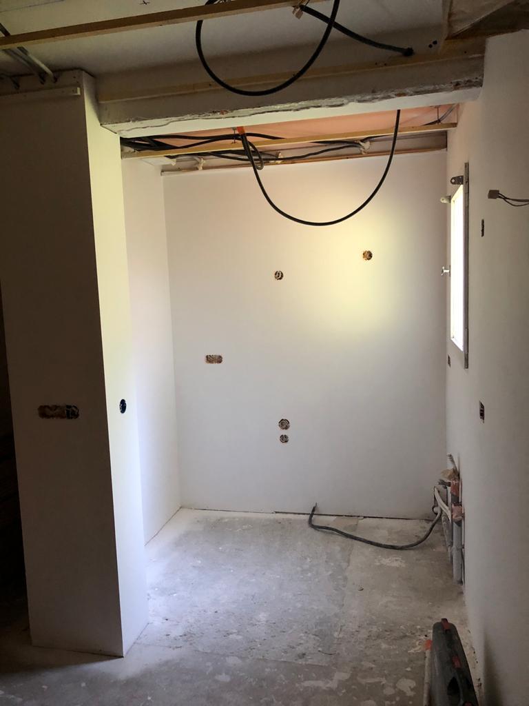 Megève, rénovation d'un appartement 5