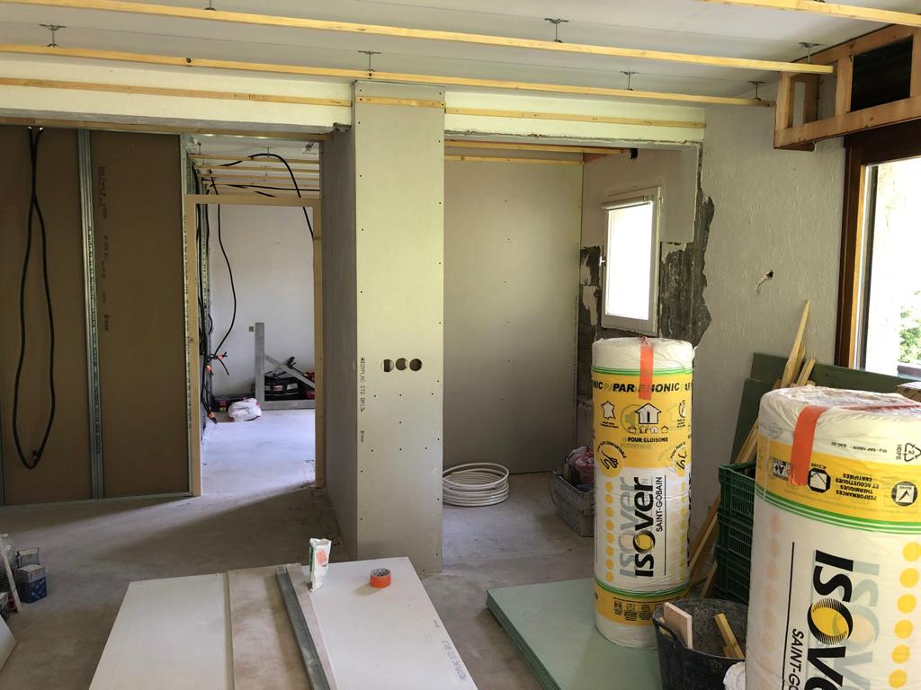 Megève, rénovation d'un appartement 6