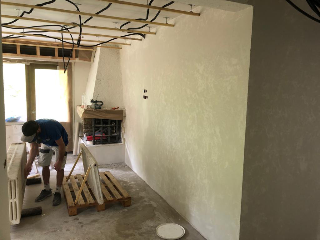 Megève, rénovation d'un appartement 2