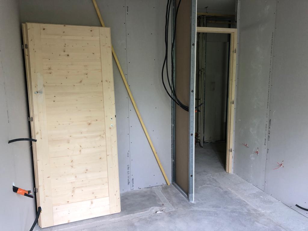 Megève, rénovation d'un appartement 1