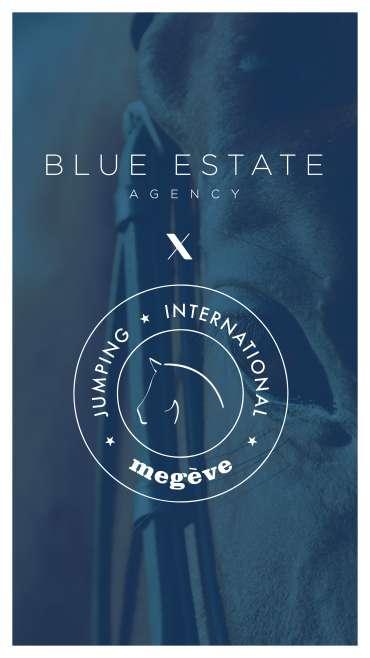 Blue Estate X JUMPING MEGEVE
