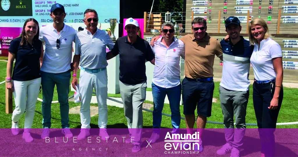 Blue Estate X Evian Championship 1
